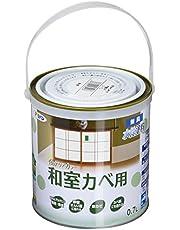 アサヒペン NEW水性インテリアカラー 和室カベ用 0.7L 朱赤