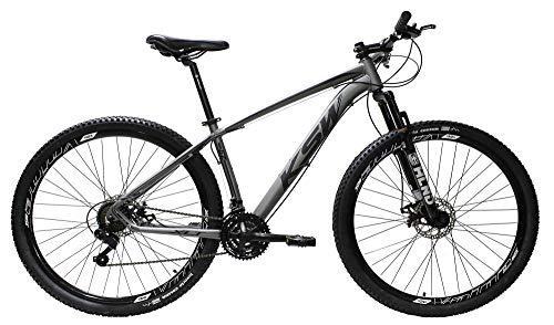 Bicicleta Aro 29 Ksw Aluminio 24 Marchas Freio Hidraúlico (Grafite, 17)