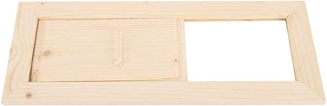 Duokon Couvercle de Grille d'aération, Accessoire de Sauna de Sauna