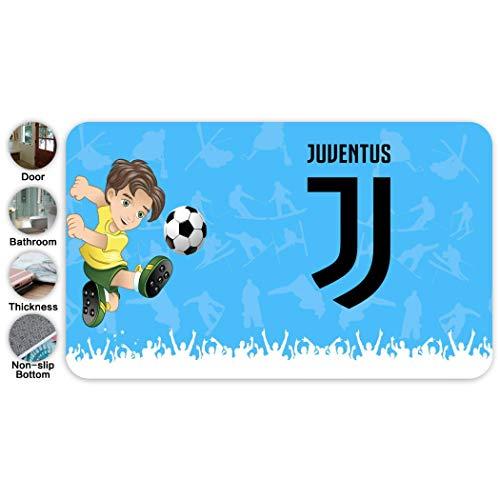 BTXX Juventus - Zerbino di benvenuto, 45,7 x 76,2 cm, per ingresso interno