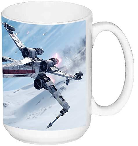 MasTazas Star Wars Battlefront X Wing Taza Grande Ceramica 15 oz ≈ 443 ml