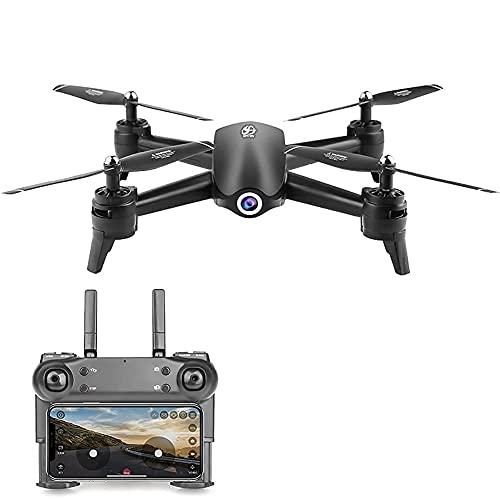 J-Clock Drone con cámara Drone con cámara 1080P HD Camera Drone FPV Live Video y GPS Auto Return Compact RC Quadcopter, Modo sin Cabeza, para Principiantes y Profesionales, Vuelo Largo 20 Minutos