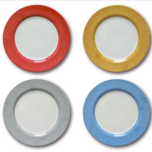 Lot de 8 assiettes plates Prestige - D 31 cm