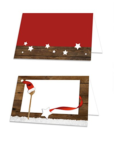 '100Decoración navideña en rojo y blanco; también se puede emplear etiquetas de...