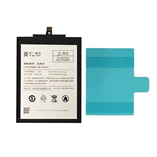 [TY BETTERY] Bateria Compatible con BM47 Xiaomi Redmi 3/3 Pro / 4X