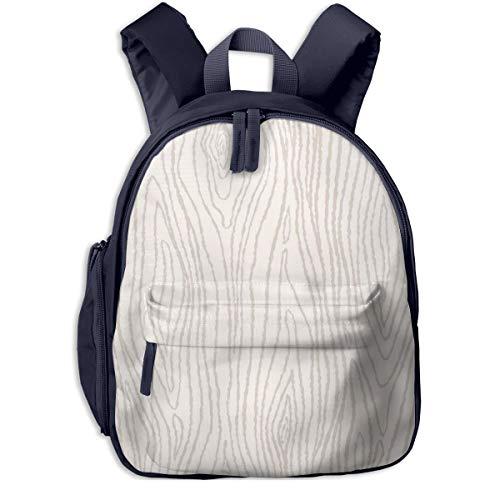 Kinderrucksack Bio Beige Grain Wood Babyrucksack Süßer Schultasche für Kinder 2-5 Jahre
