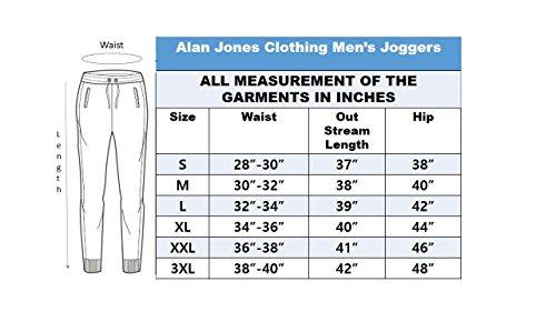 Alan Jones Clothing Men's Slim Fit Trackpants