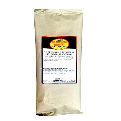 AC Legg's Premium Bratwurst Seasoning Blend 170 - 1 pack