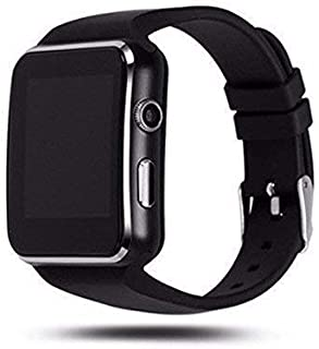 e40add24509c3f LOPAZ X6 Camera & SIM Card Supported Bluetooth Smartwatch Compatible with  All 2G, 3G,