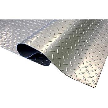IncStores Standard Grade Nitro Garage Roll Out Floor Protecting Parking Mats (Diamond 7.5' x 25')