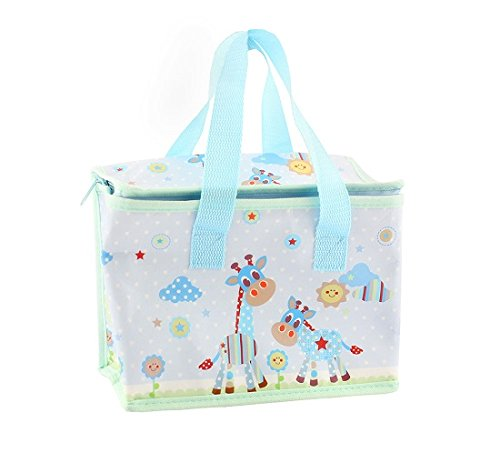 Lesser and Pavey - Little Treats Little Sunshine Sac à déjeuner isotherme Motif girafe Bleu