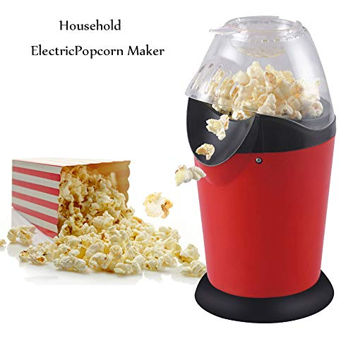 Read About NBCDY Hot Air Popcorn Popper, Household Popcorn Makers, with Wide Mouth Design, with Butt...