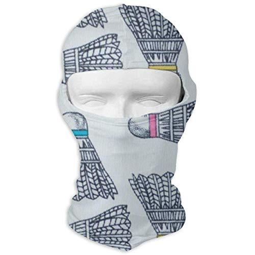 Cartoon Badminton Balaclava Full Face Mask Hood Windproof Ski Face Mask Balaclava Face Mask Multicolor2