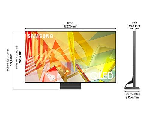 Samsung QLED 4K Q90T 55 pollici (GQ55Q90TGTXZG) Quantum processore 4K, Direct Full Array, Quantum HDR 1500