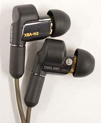 ソニーイヤホンハイレゾ対応カナル型ケーブル着脱式360RealityAudio認定モデルXBA-N3Q