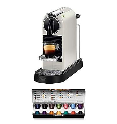 De'Longhi Citiz EN167.W - Cafetera Monodosis Cápsulas Nespresso