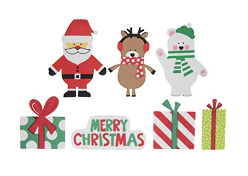 70 Piece Christmas Foam Stickers