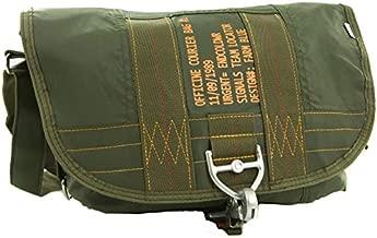Farm Blue Messenger Bag – Officine Military Shoulder Courier Bag – Olive Drab