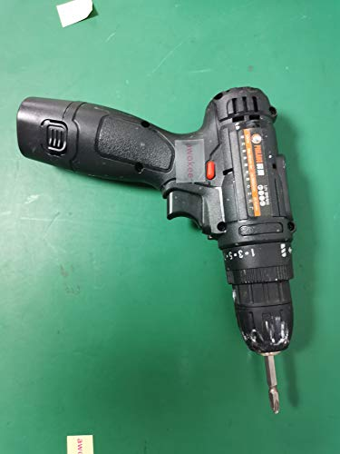 awokee Cordless Drill Driver, 18V 1000mAh Battery, 18Nm of Torque with Variable Speed Trigger, LED Light