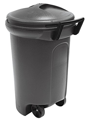 United Solutions TB0042 Critter Proof Wheeled Garbage/Trash...