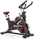 XUSHEN-HU Ejercicio Bicicleta estacionaria Cubierta de Ciclo con el Suave y silencioso de la Correa Resistencia Magnética for Cardio Fitness Training en casa y Estudio Interior