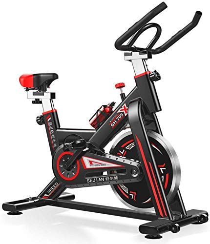 For Sale! HYY-YY Indoor Exercise Bike Stationary Cycling with Quiet Smooth Belt Magnetic Resistance ...