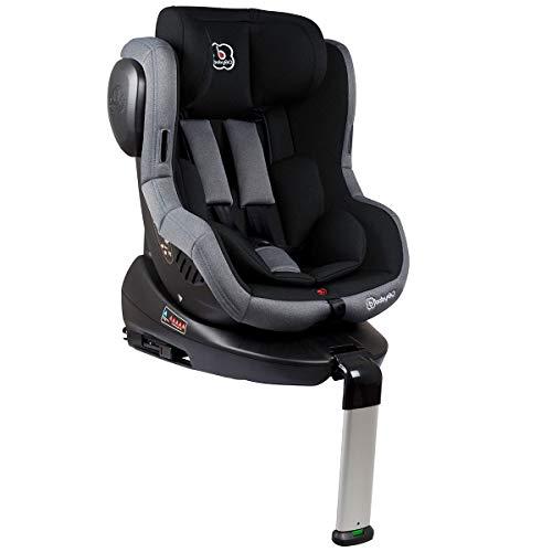 BabyGo Kindersitz Autositz ISO 360 Gr.0+ bis 18kg Isofix black 2203