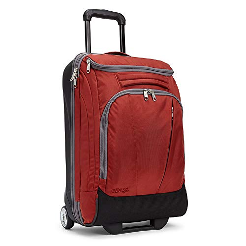 eBags TLS Mother Lode Mini 21' Wheeled Duffel Bag Luggage - Carry-On - (Sinful Red)