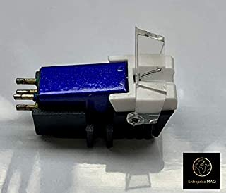 Cartridge and Stylus, needle with mounting bolts for Technics SL-D1, SL-D1K, SL-D2, SL-D202, SL-D205, SL-D2K, SL-1400, SL-1401, SL-1410, SL-1500, SL-1510, SL-Q202, SL-Q2K, SL-Q3