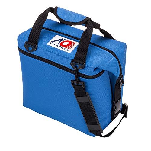 AO Coolers(エーオークーラー) キャンパス ソフトクーラー 12パック ブルー AO12RB (日本正規品)