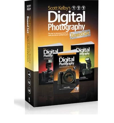 The Digital Photography Book - Complete Box Set by Scott Kelby (Volumes 1, 2 & 3)