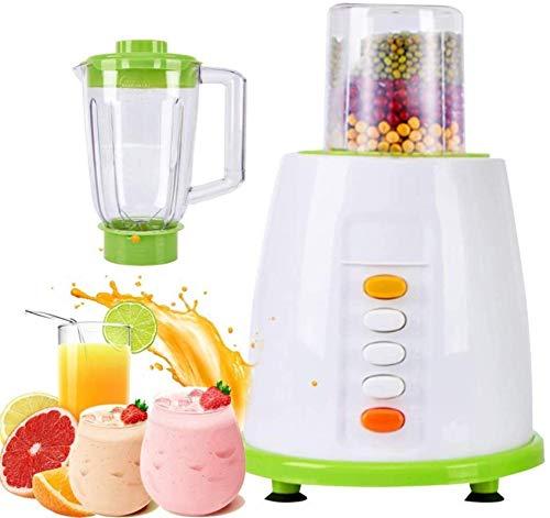 H.Slay Máquina centrífuga SHKUU para exprimidor, eléctrica de 3 velocidades y legumbres para jugos de Frutas y Verduras, Batidos y Hielo