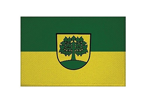 U24 Aufnäher Aldingen Fahne Flagge Aufbügler Patch 9 x 6 cm
