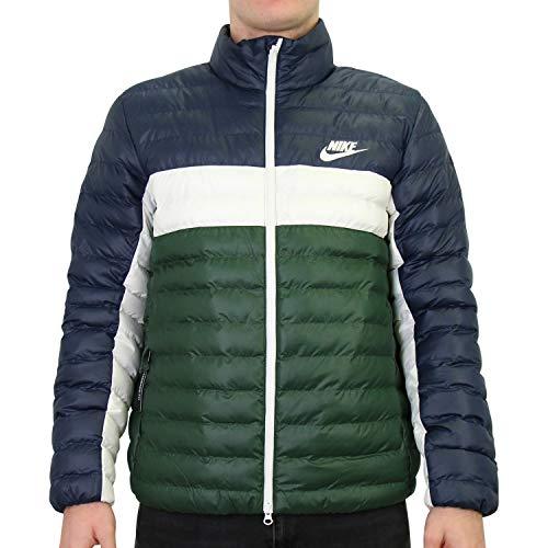 Nike Sportswear Jacke, Herren L Mehrfarbig (obsidian/Galactic jade/Sail/Sail)