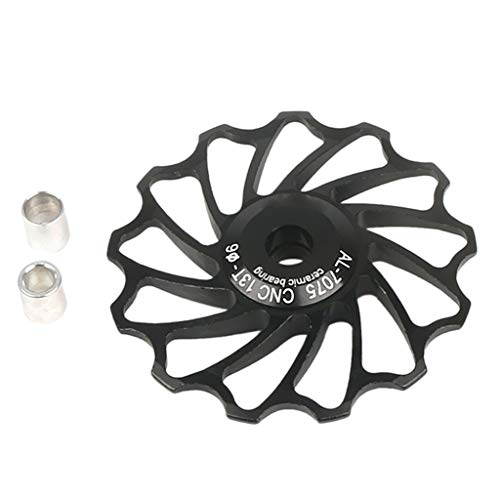 YU-NIYUT 13T MTB Bike Road Bicycle Rear Derailleur Cycling Ceramic Bearing Jockey Wheel Bike Derailleur Accessories for Mountain Bike Road Bike