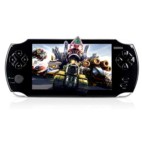 MUS RUN Handheld Game Console, Portable Video Game Console 16GB 5 'Screen 3000 Classic Games,...