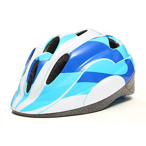 JIAMEIMEI Child Safety Riding Helmet Mountain Road Bicycle Roller Skating Shockorbing Riding Equipment Riding Protective Gear (Color : Blue, Size : Protective Gear) Best Mountain Bike Helmets