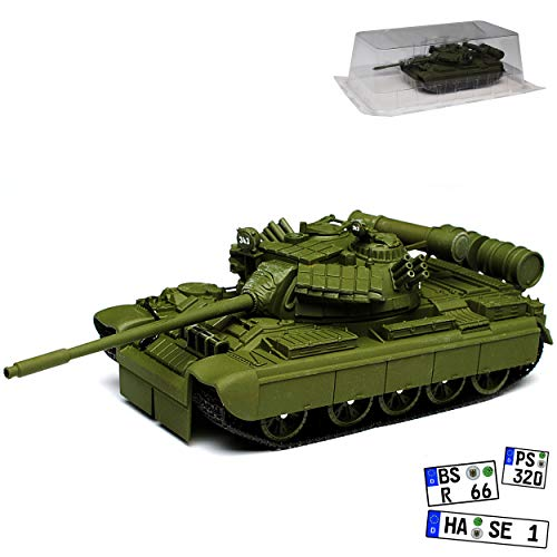 Panzer T-55 Tank GoldenEye James Bond 007 1/43 Ixo Modell Auto