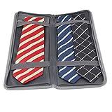 Travelbagclub - Organizador de corbatas para hombre con bolsa de almacenamiento...