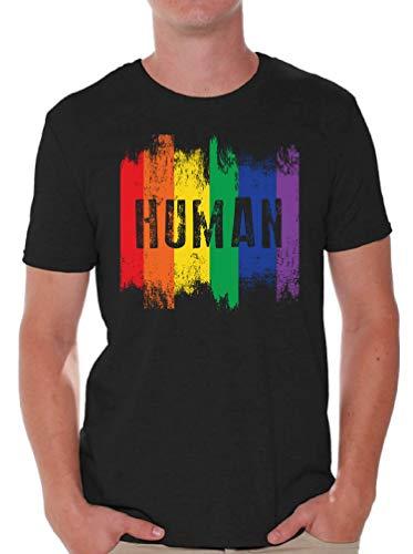 Awkward Styles Men's Gay AF T Shirts Tops Proud Gay Gifts for LGBT Parade Gay Pride (5XL, Human)
