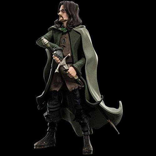 ADIS The Lord of the Rings: Aragorn Mini Epics Vinyl Statue make up collectible figurines from films