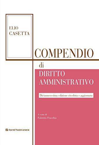 Compendio di diritto amministrativo