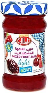 Al Alali Light Jam Mixed Fruits, 340 g