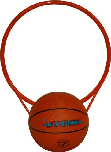 Score Direct - 1694 - Jeu de Plein Air - Cercle de Basket + Ballon de Basket - Taille 7