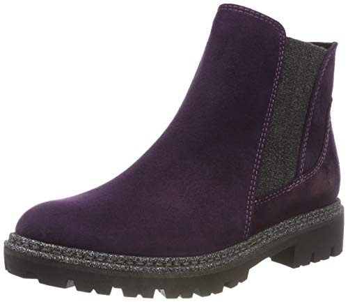 MARCO TOZZI Damen 25841-31 Chelsea Boots, Violett (Purple Comb 515), 40 EU