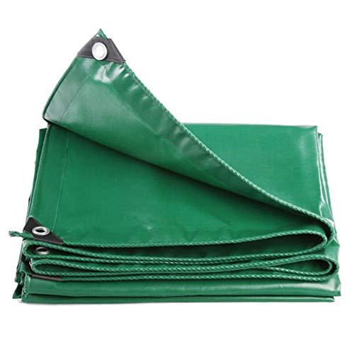 sknonr Lona Verde Impermeable - Lona de PVC de Alta Resistencia con Esquinas reforzadas, for Muebles de jardín, aparador, trampolín, Madera, automóvil, Camping o jardinería (Size : 3M×3M)