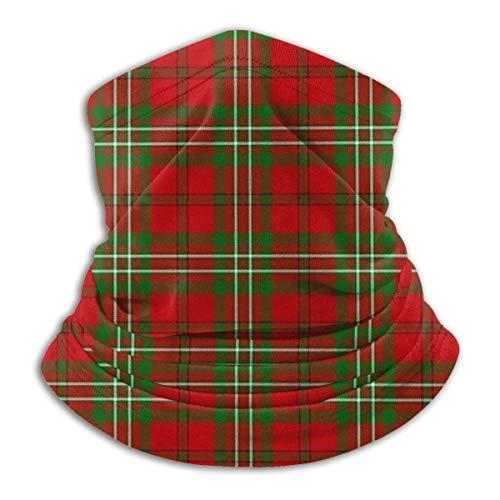 brandless Clan Scott Tartan Bandana for Rave Face Mask Dust Wind UV Sun Neck Gaiter Headwear for Women Men