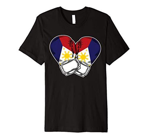 Pinoy Filipino Boxing Philippines Flag Premium T-Shirt