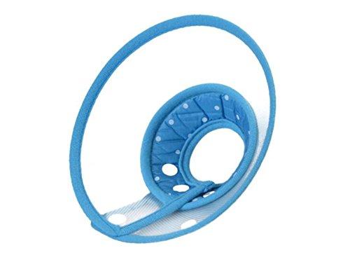Cutepet Elizabethan Halsband Mit Atmungsaktiv Soft Edge Comfy Cone Halskrause Halskragen-Trichter Kunststoff Snap Schließung Für Hunde Und Katzen FY-23947,XL