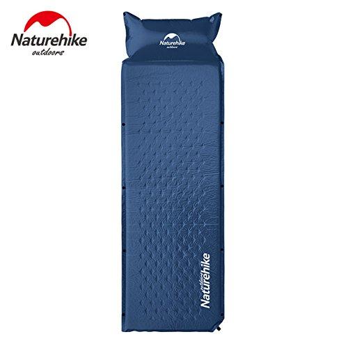 Naturehike Isomatte selbstfüllende Pad bewegliches Bettes mit Kissen Isomatte Einzelperson Faltbare NH15Q002-D